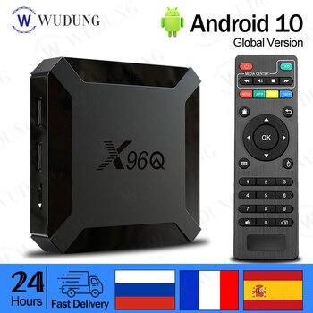 цена на X96Q Allwinner H313 Quad Android 10.0 TV Box Core Support 4K 3D Voice Control Set Top Box 2GB Media Player X96 Mini Smart TV Box
