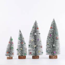 Напрямую от производителя продажа нового стиля Рождественские украшения Рождественские настольные украшения холодный снег клеи бусины