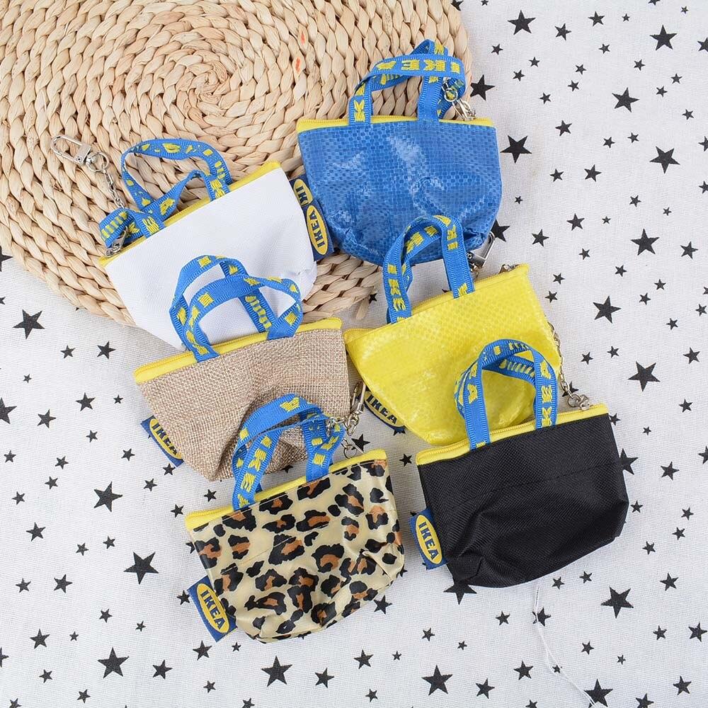 NEW Women Fashion Coin Purse Mini Wallet Money Pouch Keyring Card Holder Small Zip Bag Blue Color Coin Purse Zipper Pouch Wallet