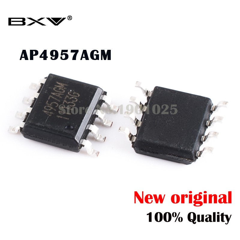 5PCS AP4957AGM 4957AGM SOP-8 MOSFET New Original