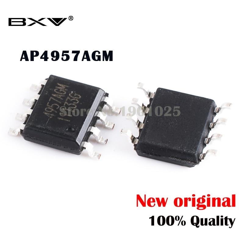 5PCS AP4957AGM 4957AGM SOP-8 MOSFET New Original