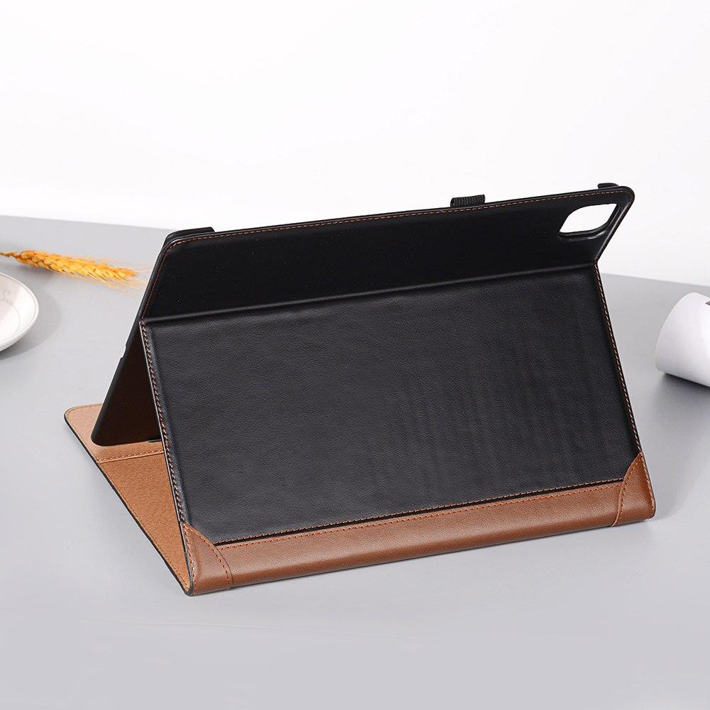2020 i for 12 Smart Pro Leather Case Folio Pad 2018 9 Fold iPad Case Book iPad for PU