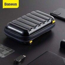 Baseus Chống Sốc Túi Lưu Trữ Cáp USB Thẻ Sạc Di Động Điện Thoại Tai Nghe Chụp Tai Túi Máy Tính Chống Thấm Nước Tổ Chức Túi Phụ Kiện Du Lịch