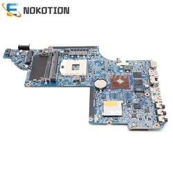 NOKOTION 641487 001 665347 001 dla HP Pavilion DV6 DV6 6000 Laptop płyta główna DDR3 HM65 512MB GPU w Płyty główne do laptopów od Komputer i biuro na