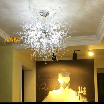 Ganeed Sputnik Downlight vanity acrylic Warm White LED Lamp Source Included  chandeier fitting pendant ceiling light