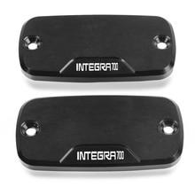 1 pair Motorcycle CNC accessories  Reservoir Brake Cap Power Part Front Brake Reservoir Cover For Honda Integra 700  2012-2013 цена 2017