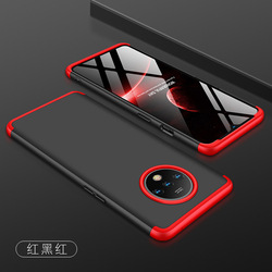 For OnePlus 7T Case Hard 3 in 1 Matte Armor Hybrid Protect back cover case for one plus 7t oneplus7t 360 full cover phone shell