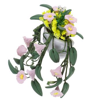 Hot! Mini roślina doniczkowa kwiaty doniczka domek dla lalek Model Bonsai zabawki dla dzieci 1 12 domek dla lalek Mini wróżka ozdoba ogrodowa tanie i dobre opinie SHPYHT 5-7 lat 8-11 lat Dorośli 12-15 lat CN (pochodzenie) Z tworzywa sztucznego None Approx 6 8 * 5cm Dolls Garden Accessories