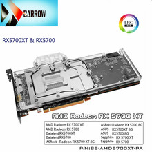 Water-Cooling-Block Backplane Supports Radeon Rx 5700 Barrow Gpu ASUS Original for AMD