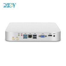 XCY Mini Pc Intel Core i7 i3 i5 7200U 7500U Win10 Micro Office Computer Linux Tv Box Minipc HDMI VGA WiFi Gigabit Ethernet 6xUSB