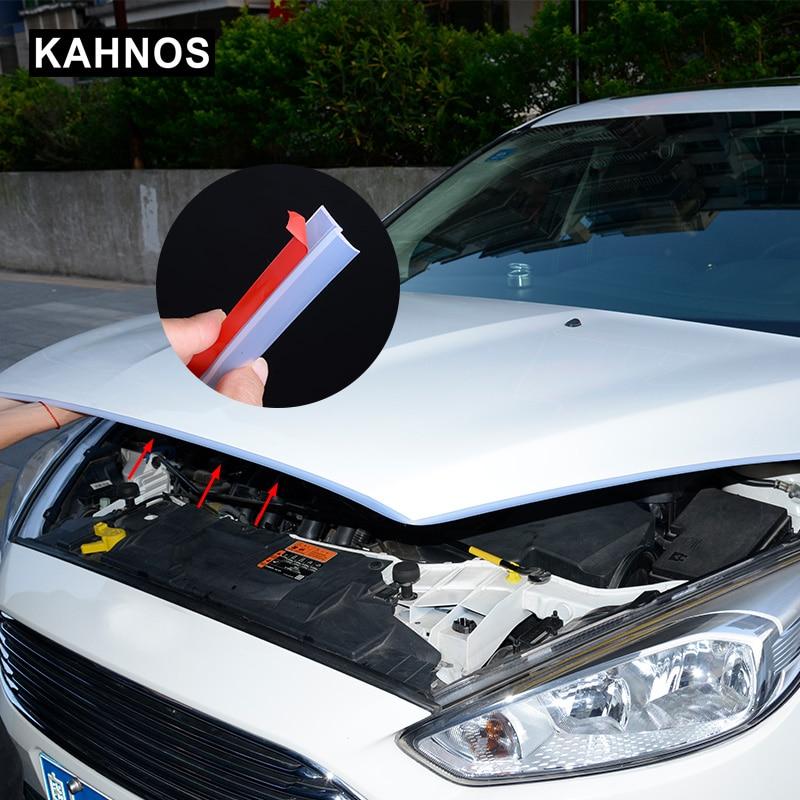 2-8 Meter Z Type Transparent Auto Rubber Seals Car Door Sealing Strip Weatherstrip Edge Trim Noise Insulation