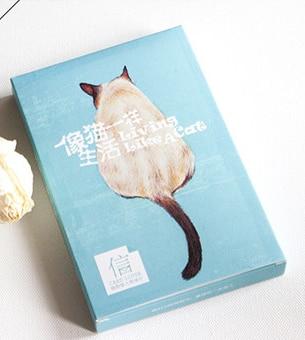Cat Life Paper Postcard(1pack=30pieces)