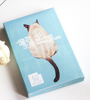 P144- Cat Life Paper Postcard(1pack=30pieces)