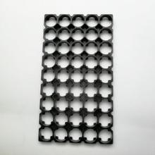 300pcs/lot MasterFire 5*9 18650 Batteries Spacer Radiating Holder Bracket Black Plastic Battery Storage Box Holder Brackets