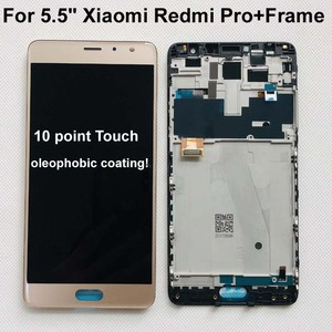 Image 1 - 100% New Original OLED 5.5 For Xiaomi Redmi Pro LCD Screen Display+Touch Digitizer Frame For Redmi Pro Lcd Display Touch Screen