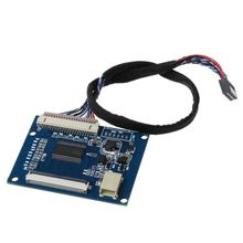 1Set Standard 20Pin 1 ch LVDS Input to 50Pin TTL Output Driver Board with Cable