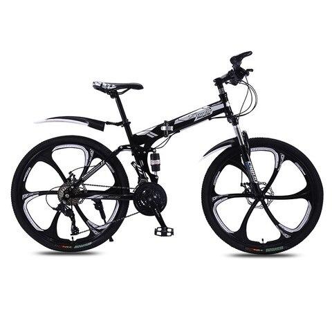 Bicicleta de Montanha Homem e Mulher Fora da Estrada Ciclismo Adulto Roda Velocidade Dupla Chocante Bicicleta 2020 Novo Uma