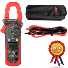 UNI-T UT203 400A AC DC Digital Clamp Meter Resistance,Frequency Test Duty Cycle Relative