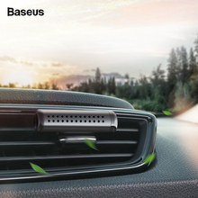 Baseus Mini Metal Car Air Freshener Aromatherapy For Condition Clip Diffuser Clean Solid Perfume Auto Outlet