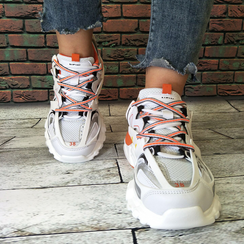Fashion Men's Hip Hop Street Dance Shoes White High Top Chunky Sneakers Autumn Summer Casual Mesh Shoes Boys Zapatos Hombre