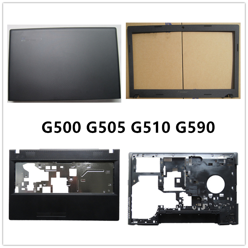 New laptop For <font><b>Lenovo</b></font> <font><b>G500</b></font> G505 G510 G590 LCD Back Cover Top <font><b>Case</b></font>/Front Bezel/Palmrest/Bottom Base Cover <font><b>Case</b></font>/hinges image