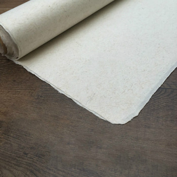 10 arkuszy chiński obraz Xuan papier Yunlong papier morwowy kaligrafia papier ręcznie robiony pół dojrzałe włókno Xuan Zhi Papel Arroz tanie i dobre opinie suvtoper CN (pochodzenie)