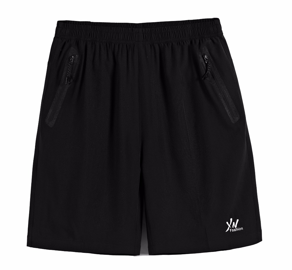 Shorts Male Jogger-Board Elastic-Waist Quick-Drying Knee-Length Mens Casual BB66 Breathable