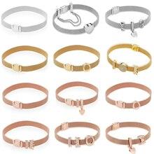 Kakany nova alta qualidade clássico reflexions pulseira série pulseira original adequado 1: 1 diy moda jóias presente