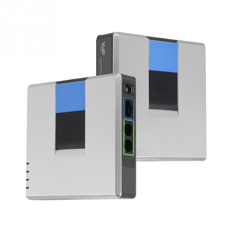 VoIP Gateway Internet Telefon 2 Ports Adapter SIP RJ45 Kabel für Linksys PAP2T-NA PAP2T PAP2T-Na ATA telefon adapter keine box