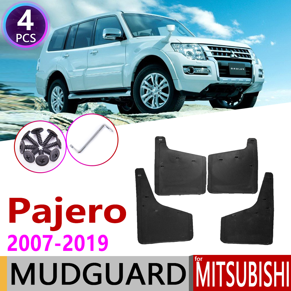 Car Mudflap For Mitsubishi Pajero Montero 2007~2019 Fender Mud Guard Flap Splash Flaps Mudguard Accessories 2010 2015 2016 2017
