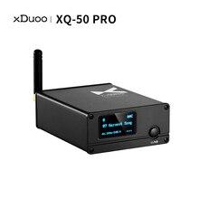 Xduoo XQ 50 pro adaptador sem fio xq 50 es9018k2m buleoth 5.0 usb dac suporte aptx/sbc/aac rejuvenescer conversor receptor de áudio
