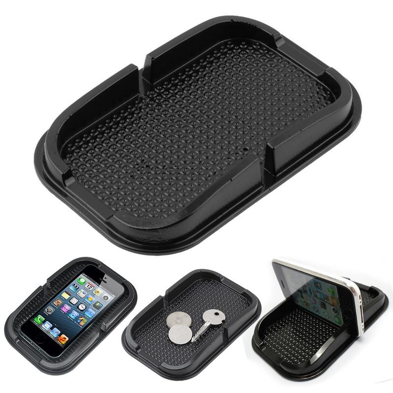 Car Dashboard Non Slip Grip Pad Phone GPS Holder Mat Anti-skid Silicone Mat Car Anti Slip Mat Universal Car Accessories
