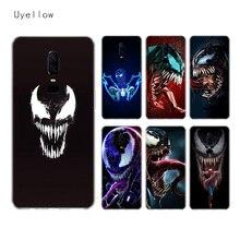 Uyellow Venom Marvel Silicone Soft Case For One Plus 7 Pro 6 6T 5 5T Fashion Fundas Printed Cover Luxury Phone Coque Shell Capa