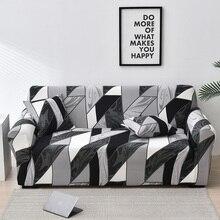 Elastische Sofa Schutzhülle All inclusive Sofa Abdeckung für Wohnzimmer Ecke fundas sofas con chaise longue Couch Abdeckung Möbel fall