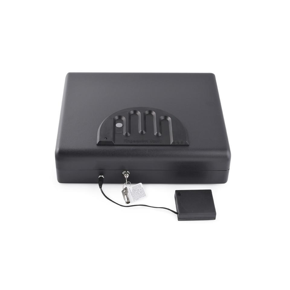 Large Size Pistol Safe Fingerprint Pistol Portable Car Fingerprint Safe OS550SDT