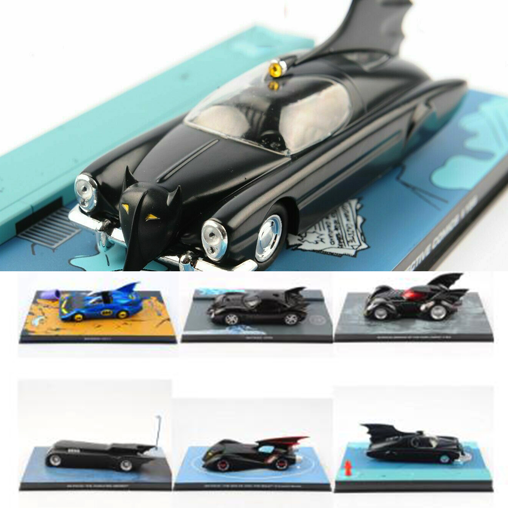 Kids Toys 1:43 Scale Classic Anime Comic Batman Cars Vehicle Model Diecast Collection Decoration Room Traffic Tool Gift Toys
