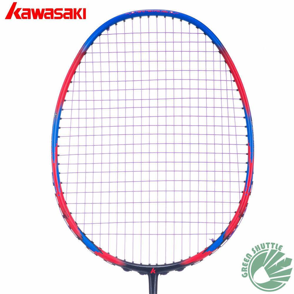 Nur 73g 6U Kawasaki Super Licht 680 580 Badminton Schläger 30T Aerofoil Rahmen Badminton Schläger 100% carbon Mit freies Grip