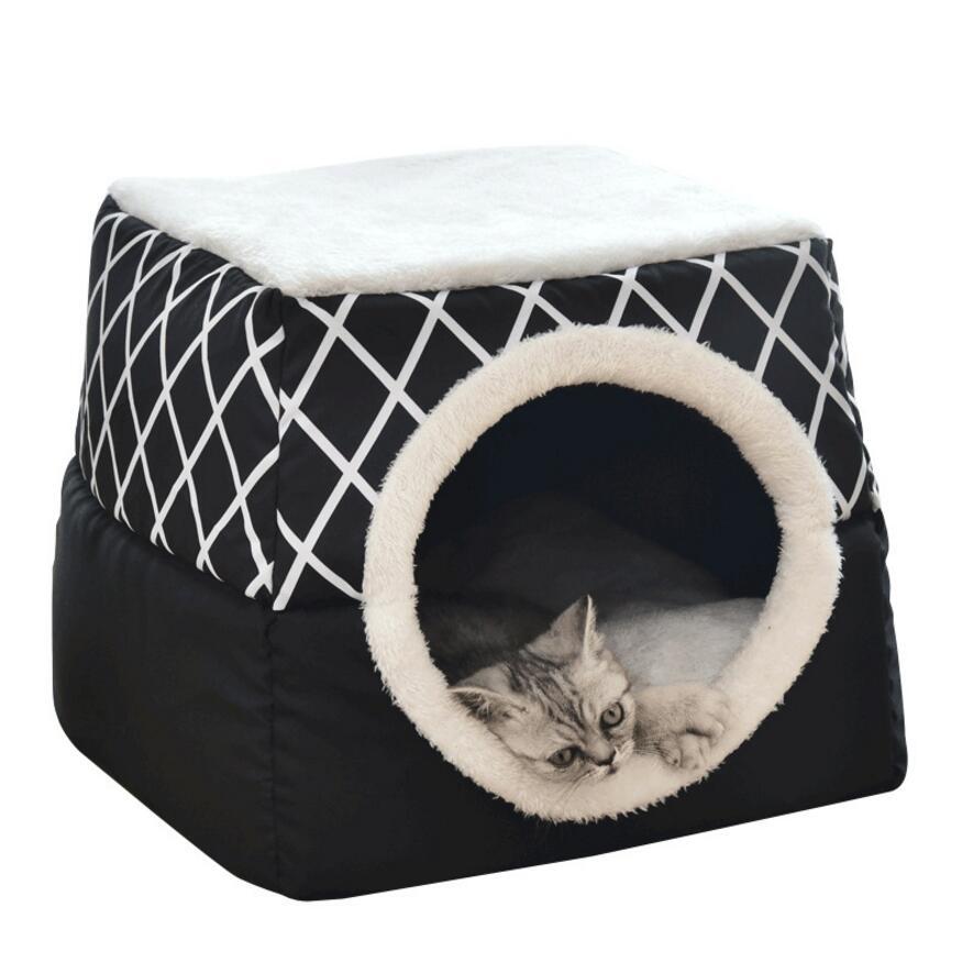 Cat nest capsule Summer winter cat house enclosed warm cat room pet supplies dog nest 2 size