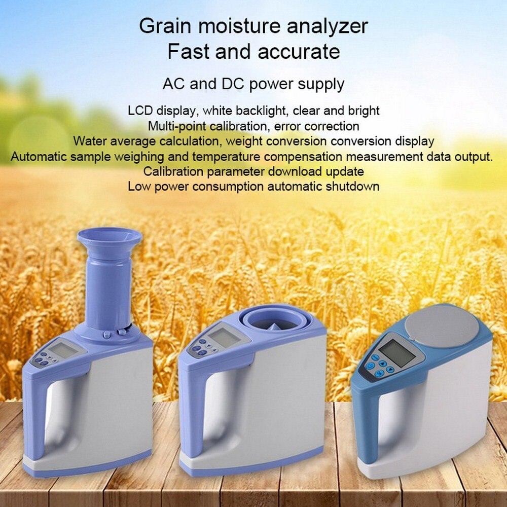 Цифровой анализатор влажности зерна, высокоточный гигрометр для кукурузы, риса, зерна, LDS 1G, измеритель влажности, ЖК дисплей, автоматически...