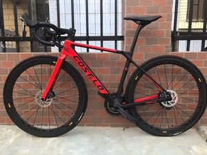 Costelo RIO 3.0 Disc full carbon fiber road bicycle carbon complete bike frame wheels completo bicicletta bici velo completa