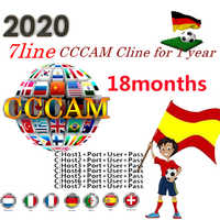 Egygold cccam server 7 clines for 1 year/18 months europe Spain portugal germany poland for TV Satellite Receiver DVB-S2 full HD