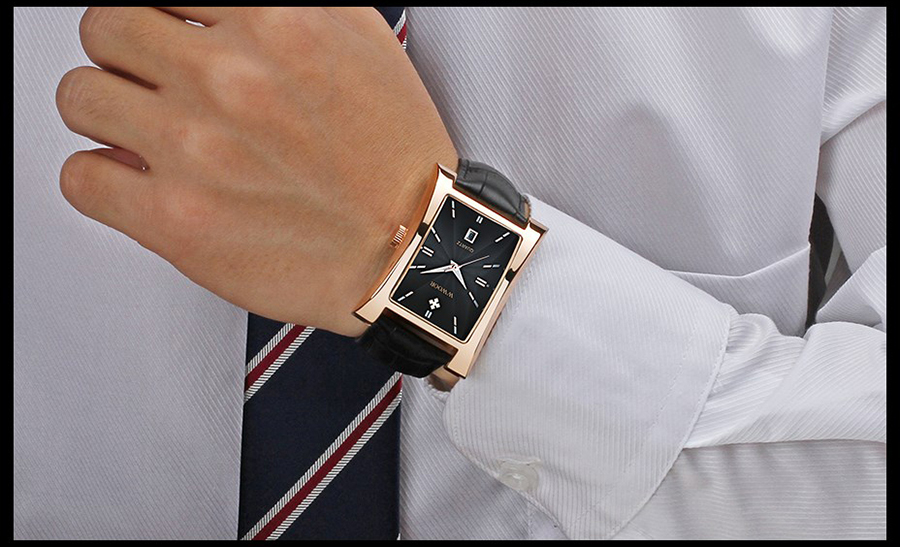 H93d99d58671042c88a23c897f7346c6er Watch Men Brand Luxury Gold Watches For Men Leather Waterproof Date Clock Business Quartz Wrist Watch Box