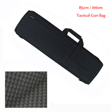 85CM/100CM Hunting Tactical Rifle Gun Bag Outdoor Sports Heavy Duty Shooting Gun Carry Rifle Case Shoulder Pouch Accessories Bag outdoor hunting rifle backpack airsoft tactical gun rifle bag nylon heavy duty rifle case with protection cushion 85cm 100cm