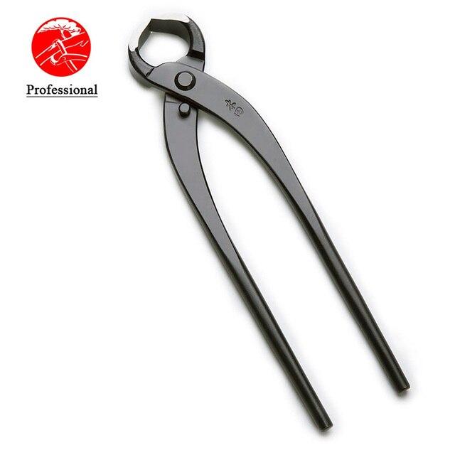 Резак для корней 215 мм, резак для веток, резак с прямыми краями, профессиональный уровень, высокоуглеродистая легированная сталь, инструменты для бонсай