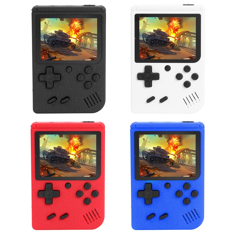 400 in 1 Retro Handheld Video Games Console Built-in 400 Classic Games 3.0 Inch Screen Portable 8 Bit Gaming Player Gamepads