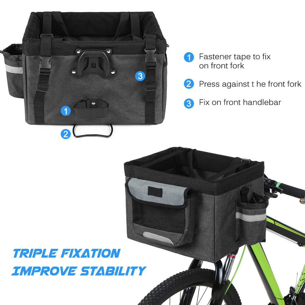 bike pet carrier