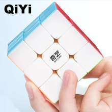 Qiyi guerreiro w 3x3x3 cubo mágico profissional 3x3 cubo mágico quebra-cabeças cubos de velocidade 3 por 3 brinquedos educativos para crianças crianças presentes