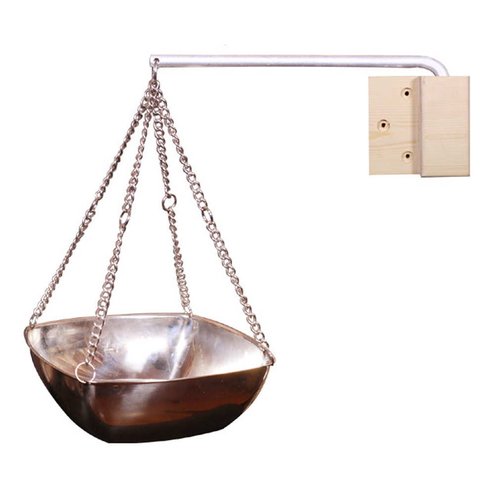 Indoor Diffuser Stainless Steel Sauna Spa Hanging Aromatherapy Oil Cup Salon With Chain Essential Fragrance Bowl Practical Round