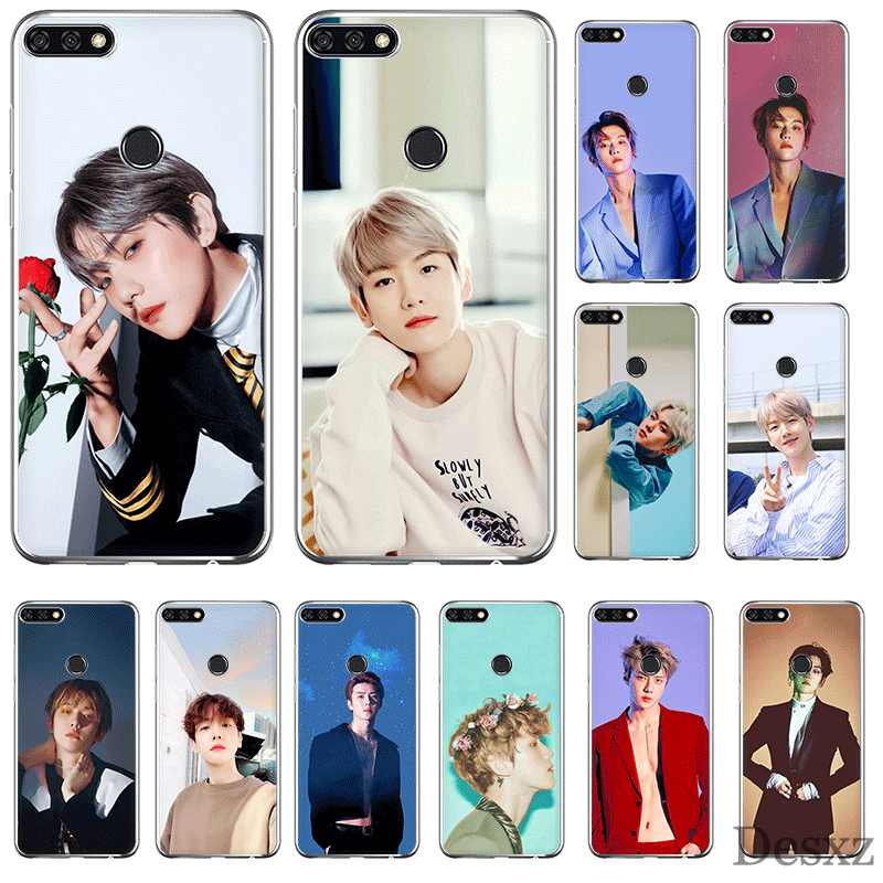 Mobile Phone Case For Mate 10 20 Lite Pro Nova 2i 3 3i 4 5i Y5 Y6 Y7 Y9 Hard Cover EXO Baekhyun Shell