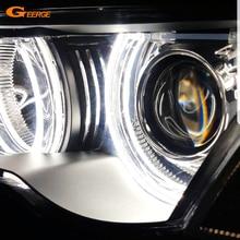 Para bmw e46 e36 e38 e39 131 146 excelente dtm estilo ultra brilhante led angel eyes halo anéis acessórios retrofit